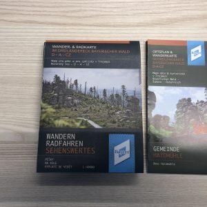 Neue Wander- & Radkarte Dreiländereck Bayerischer Wald