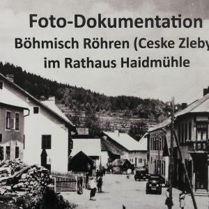 Die ehemalige Pfarrei Böhmisch – Röhren (České Žleby)