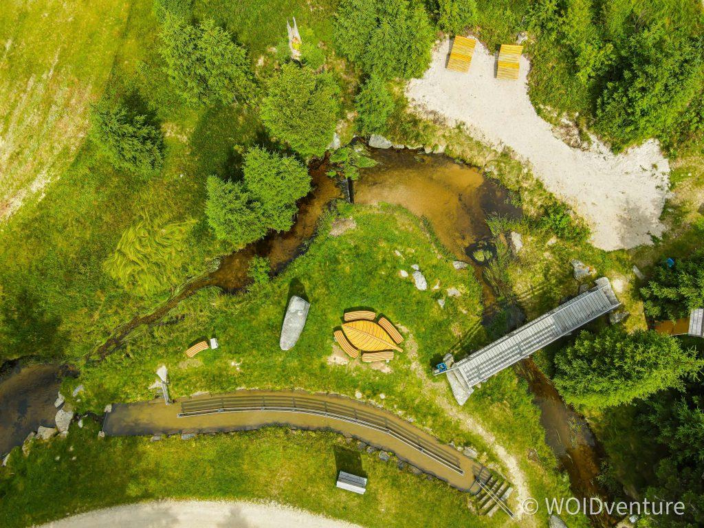 Luftaufnahme Jogl-Kneippanlage