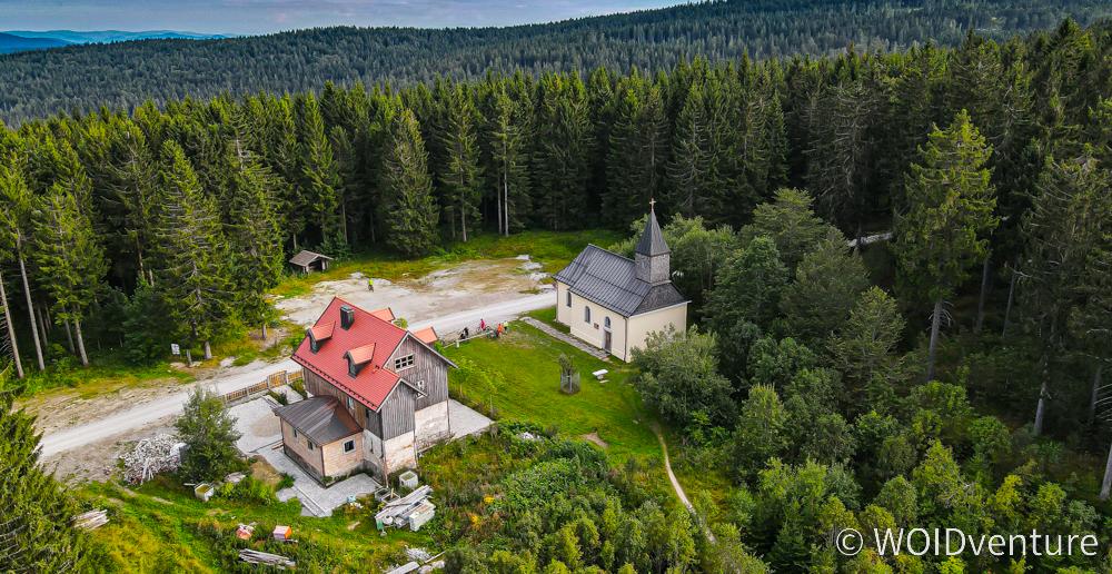 Luftbild von Leopoldsreut