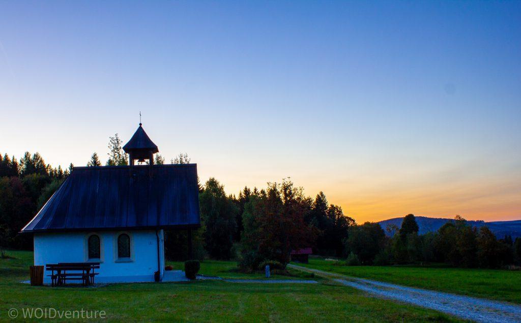 Sonnenuntergang übern Steinköpfl