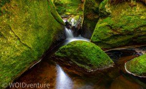 Wasserfälle IV
