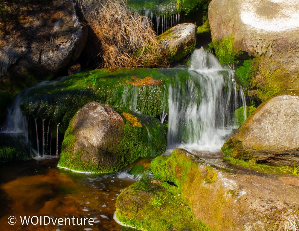 natürlich entstandenen Wasserfälle