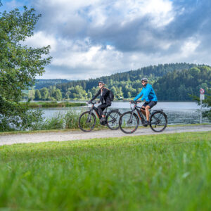 Radeln zwischen Donau und Moldau