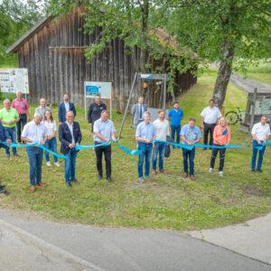Neues Radgebiet Donau-Moldau offiziell eröffnet